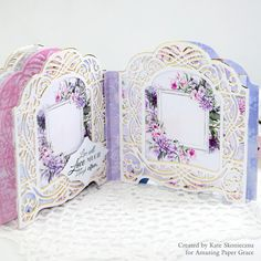 Vignettes were introduced almost 2 years ago and along the journey, our readers have begged us not to abandon the concept but to keep . 3d Cards, Folded Cards, Mini Scrapbook Albums, Mini Albums, Memory Album, Memory Books, Vignette Design, Owl Card, Spellbinders Cards