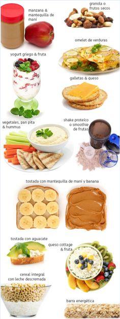 Estos son los 13 snacks que puedes comer después de ejercitar