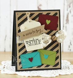 Card by Laurie Schmidlin using Verve Stamps. #vervestamps