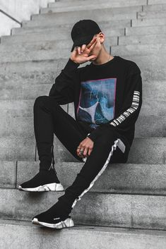 ** Streetwear daily - - - Click this picture to check out our clothing label ** Outfits Hombre, Tomboy Outfits, Trendy Outfits, Cool Outfits, Men's Outfits, Streetwear Mode, Streetwear Fashion, Streetwear Jeans, Streetwear Summer