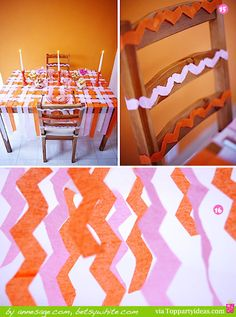 20 Party Decorating Ideas Using Paper Streamers - TopPartyIdeas.com