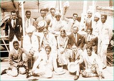 Indian Hockey Team enroute to 1932 Olympics. The Gods of Hockey bringing home the Gold for the country