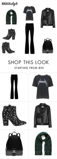 """Star F*cker"" by lekeks ❤ liked on Polyvore featuring STELLA McCARTNEY, Topshop, Laurence Dacade, Maison Margiela, Michael Kors, Mulberry, rockerchic and rockerstyle"