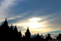 Borobudur Tempel.