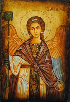 Arhanghelii Religious Icons, Religious Art, Angel Guide, Archangel Gabriel, I Believe In Angels, Angels Among Us, Angel Cards, Guardian Angels, Art Icon
