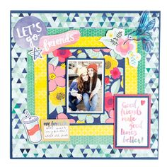Better Together Collection by Amy Tangerine for American Crafts - Scrapbook.com