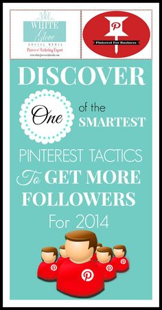 Are YOU following this advice?  I am!  Follow and read this expert's advice---you'll pick up valuable tips on how to use Pinterest more effectively! ~Pinterest marketing expert