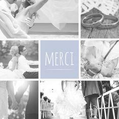 cartes de remerciement mariage enveloppes offertes - Remerciement Mariage Photo