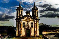Igreja São Francisco de Assis Ouro Preto - MG