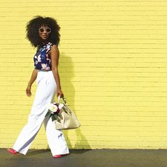 Summer's in full swing. Let the sun & your style shine like @africamiranda all season long. #YouStyled
