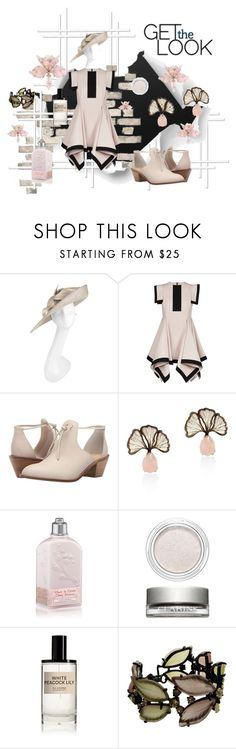 """(Do not) Stand Still!"" by bubybooh ❤ liked on Polyvore featuring Vivien Sheriff, Siobhan Molloy, Kelsi Dagger Brooklyn, Manka, L'Occitane, Clarins and D.S. & DURGA"