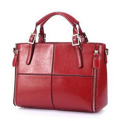 Fashion patchwork designer cattle split leather bags women handbag brand high quality ladies shoulder bags