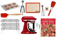 Having the right tools in the kitchen makes baking fast, easy and fun. Here are a few of our favorites.