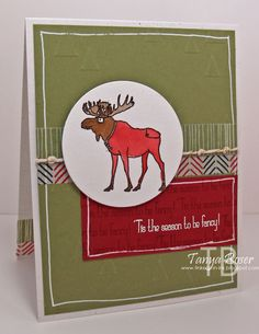 Tinkerin In Ink with Tanya: Stampin' Addicts 2014 Winter Holiday Blog Hop: Visions of Santa