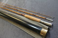 "H. L. LEONARD ROD CO. - MAKERS, NY MODEL ""STEELHEAD TOURNAMENT #51"" 9' 3PC 1 TIP 7-8 WT"