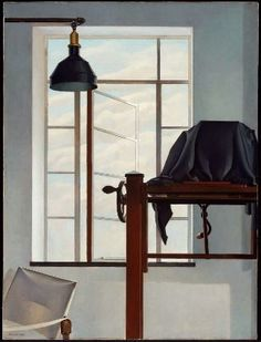 View of New York - Charles Sheeler 1931 oil on canvas