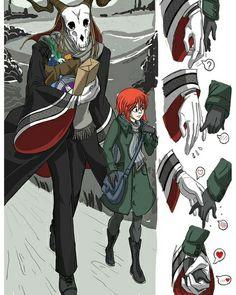 Manga Anime, Anime Art, Elias Ainsworth, Chise Hatori, Anime Suggestions, Arte Sailor Moon, Tamako Love Story, The Ancient Magus Bride, Shadow Art