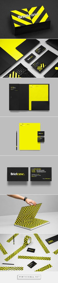 Briefcase Brand Identity Design by Anagrama