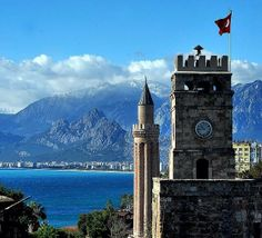 Saat kulesi.. Antalya