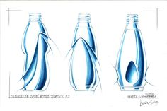 Single Use Water Bottle Concept by Kendra Schmiedeberg