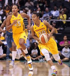 Former Terps, Marissa Coleman and Kristi Tolliver once again teammates now for the LA Sparks