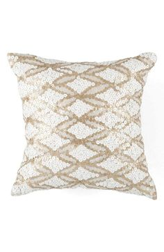 Free shipping and returns on KAS Designs 'Gemma' Pillow at Nordstrom.com. <b>Limited Time Savings: Save 20% on selected items for bed, bath and home, now through January 19, 2015.</b><br><br>Sequined designs sparkle on a decorative pillow that adds a dash of glamour to your décor.