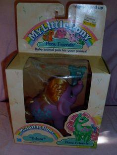 Vintage My Little Pony Edgar Elephant MIB / MOC ~ MLP G1 Pony Friend ~ HTF