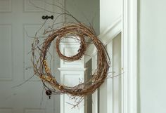 Decorating the Fall Harvest http://www.shopterrain.com/harvest_decor #grapevine #wreath