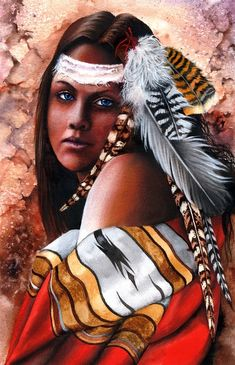 native american paintings and illustrations