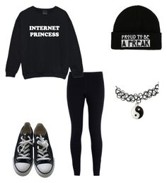 """Untitled #124"" by musicqueen72 ❤ liked on Polyvore featuring NIKE and Converse"