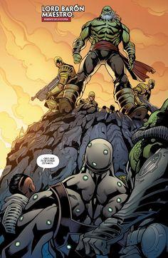 Galicia Comic: Inhumans - Attilan Rising 4 - El horror del silencio