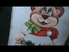 Ursinha MEL - Pintura em tecido - Aula 6 - YouTube