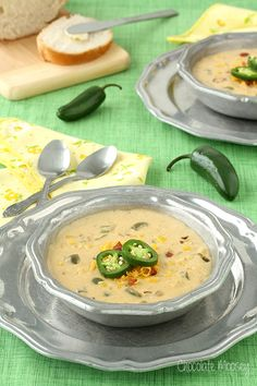 Jalapeño Popper Corn Chowder can be ready for dinner in just 45 minutes.