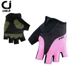 d4ee30a10 Men s   Women s Cycling Gloves Summer Cheji Team Sport Gloves Mtb Half Finger  Bike Gloves Gel Shockproof Racing Bicycle Gloves