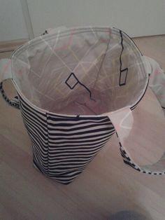 Eine meiner Varianten der @pattydoo Wendetasche Wendy. Stoffe: Ikea Meterware Anleitung: https://www.pattydoo.de/schnittmuster/shopper-wendy