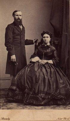 Photo by:  Mathew Brady, Brady's National Photographic Portrait Galleries, New York, NY & Washington, D.C., ca. 1861-1865:  Carte de Vista (CDV)