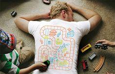 Playmat Back Massage T-shirt