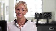 Charlotte om Steppie I samarbejde med Steppie og Charlotte Bircow, har vi produceret en række små film.  Optagelserne fandt sted i Køge, og skulle bruges til web og Facebook Annoncering.  Film annoncerne på Facebook har givet Steppie et godt resultat.  www.ISOfilm.dk - 82 30 40 80