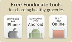 OMGosh, this is the best phone app, it really helps you make better choices in the grocery store! Fooducate - Eat a bit better™ Alkaline Diet Recipes, Raw Food Recipes, Reading Food Labels, Best Meal Prep, Bread Ingredients, Healthy Groceries, Make Good Choices, Food Facts, Cool Websites