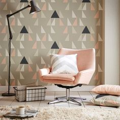 Buy Blush 111305 Scion Lohko Modul Wallpaper From Our Range At John Lewis Free Delivery On Orders Over