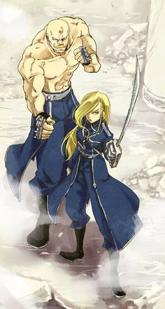 Armstrong siblings        _Fullmetal Alchemist Brotherhood