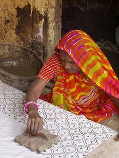 Wood Block Printing , India