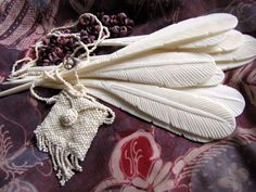 Birds of a Feather Boho Carved Bone Hairstick by Indounik on Etsy, $6.00