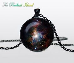 NEBULA Pendant   the Orion Nebula Necklace by ThePendantIsland, $13.50