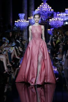 ELIE SAAB Haute Couture Fall 2014-15 | Galleries | FashionTV | fashiontv.com