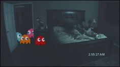 Paranormal Activity 5 trailer Paranormal Activity 3, Happy Fun, Super Happy, Pac Man, Pacman Ghosts, Funny Pictures, Inspiring Pictures, Funny Pics, It's Funny