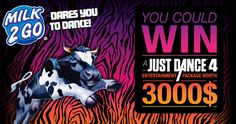 Win $3,000 Entertainment Prize Package from Milk 2 Go