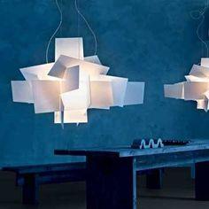 Foscarini Big Bang Suspension Lamp - Style # 151007, Modern Suspension Lamps - Modern Chandeliers - Modern Pendant Lighting | SwitchModern.com