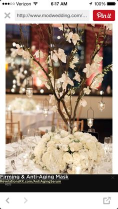 Love these center pieces
