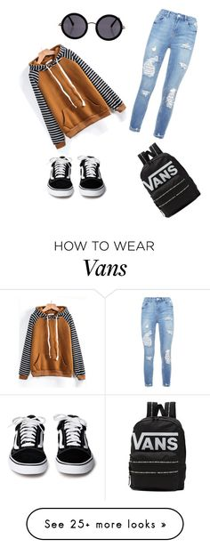 """""""My fav style"""" by djennebrouwer on Polyvore featuring The Row and Vans"""